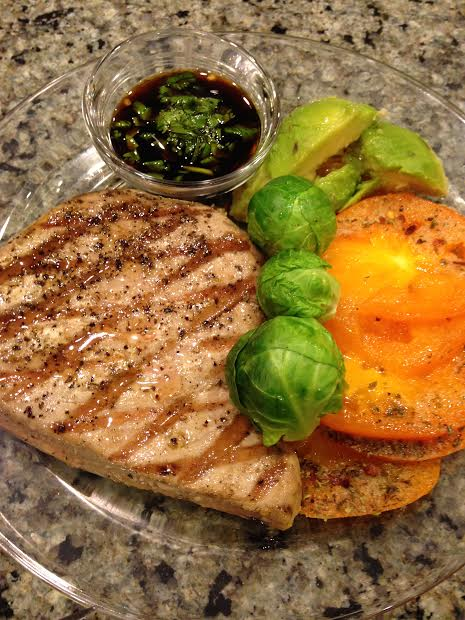 Grilled Tuna Steak   What To Cook Tonight