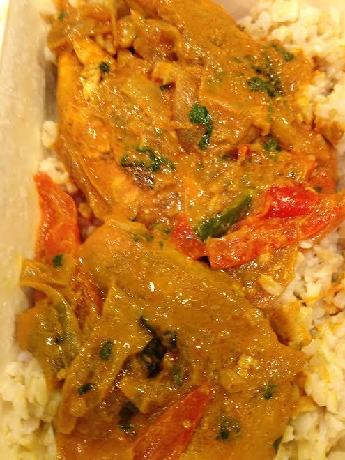 Panera Thai Chicken in Coconut Curry Sauce
