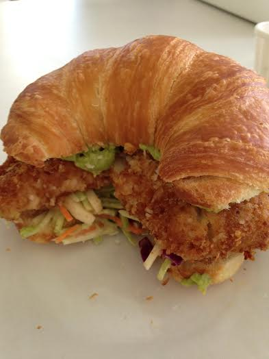 Coconut Cod Fish Sandwich