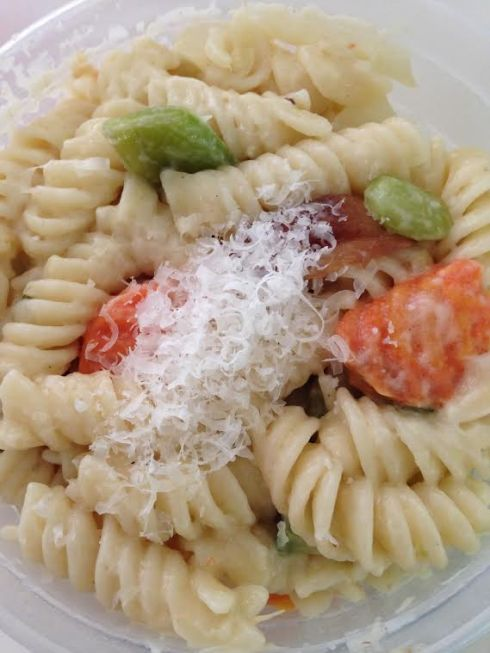 Easy Pasta with Vegetables