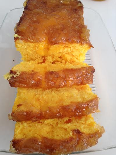 Mango Pineapple Cake