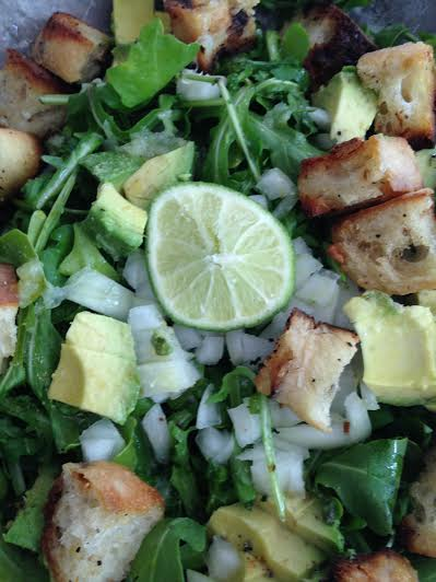 Lime Avacodo Salad