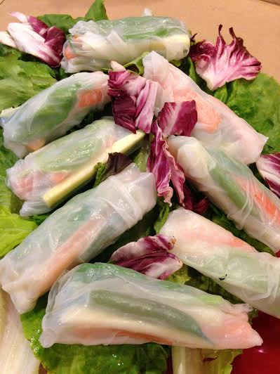 Rice Paper Roll Ups